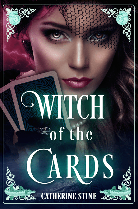 Witch of the Cards by Catherine Stine - front cover